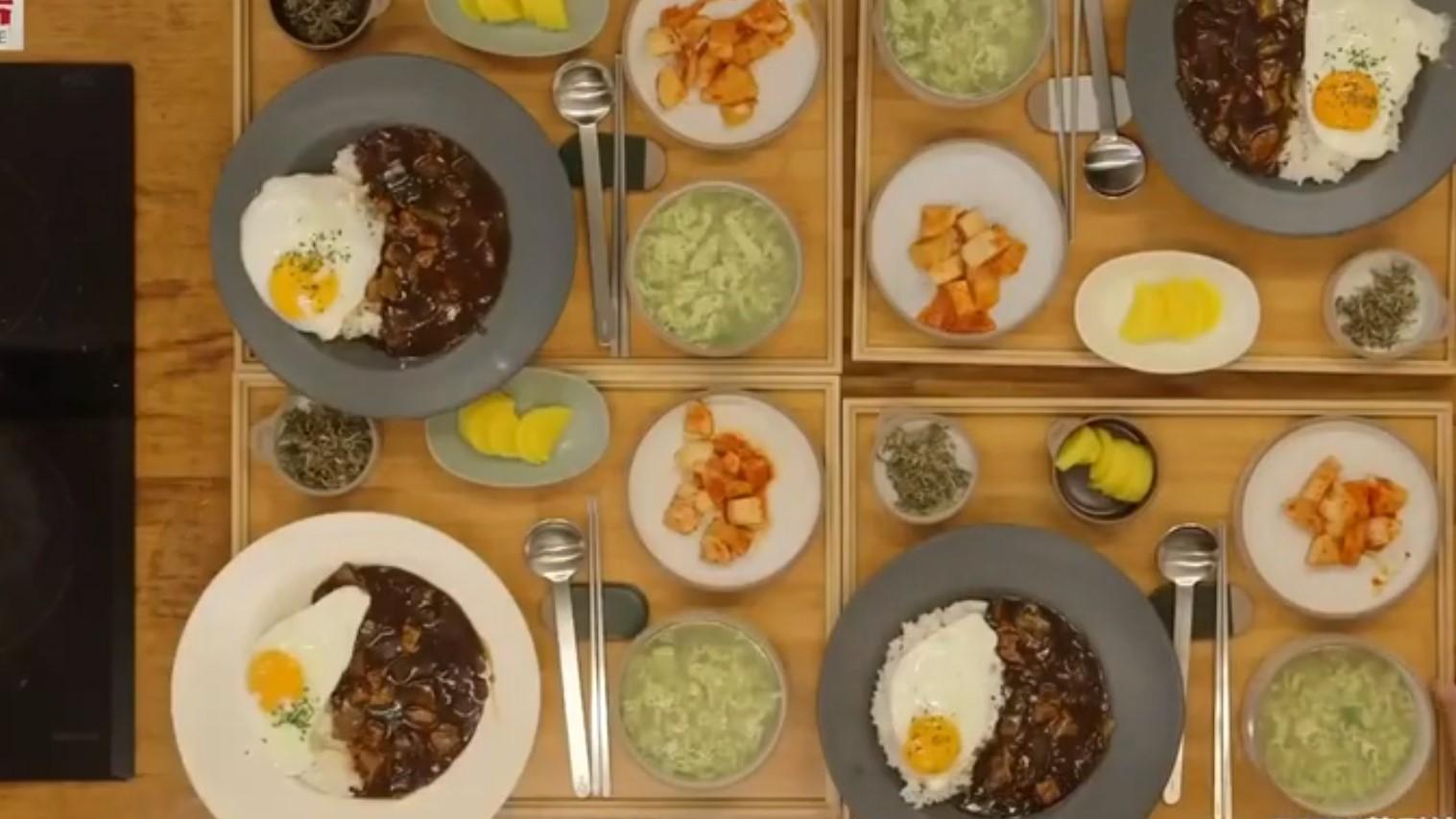 韓綜 西班牙寄宿家庭 韓式炸醬飯