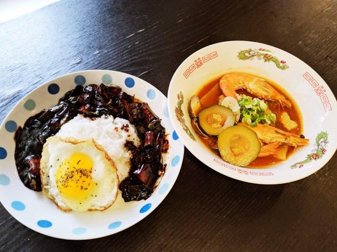 韓式炸醬飯 西班牙寄宿家庭 韓綜