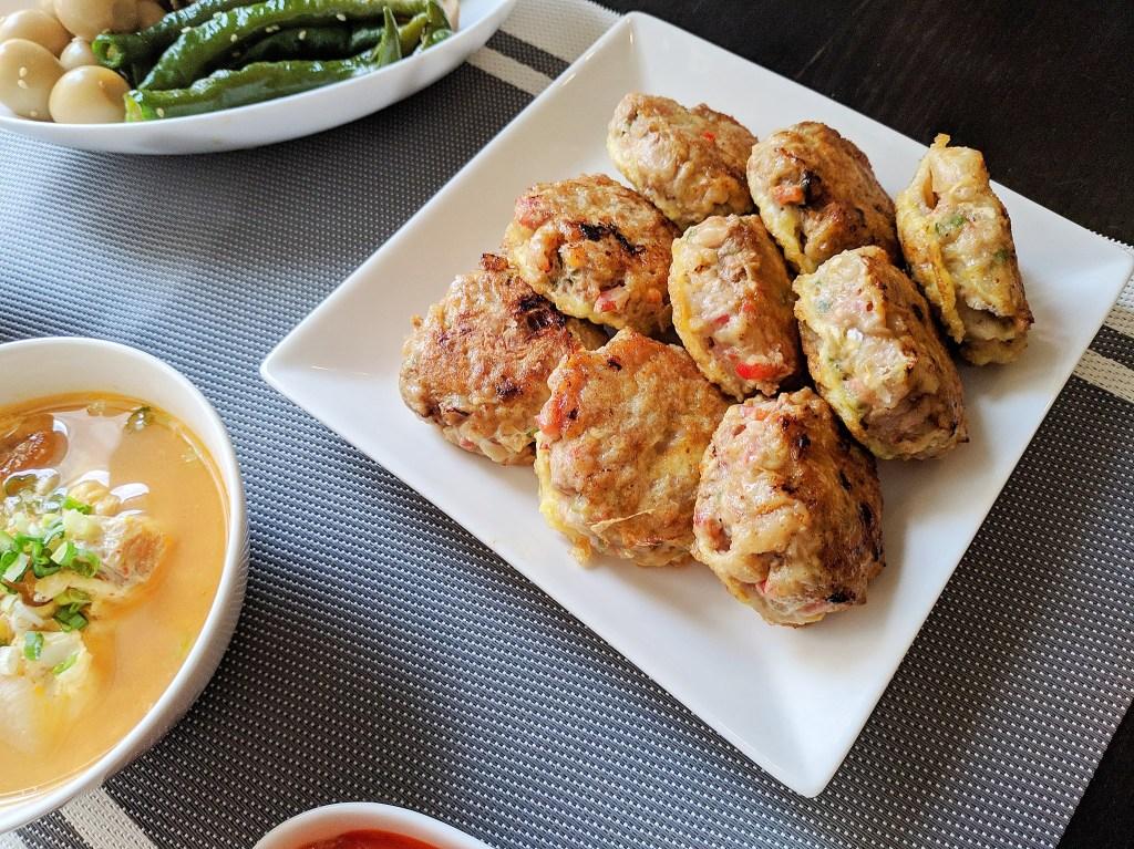 韓式煎肉餅